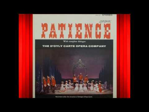 Patience (Act 1) - D'Oyly Carte - Gilbert & Sullivan.avi