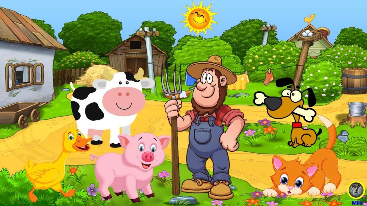 El t o mcdonald tenia una granja canciones infantiles for Como hacer una granja de peces
