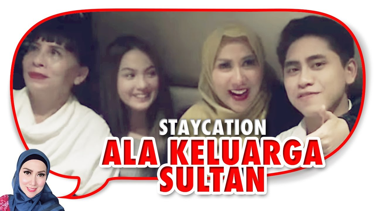 Staycation Ala Nyonya Sultan di Fairmont Hotel Bersama Athalla dan Aisyah Plus Vania Dan Niang Ayu