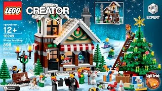 Winter Toy Shop  - LEGO Creator Expert - Designer Video 10249(Enjoy the holiday season with the Winter Toy Shop! Welcome to the Winter Toy Shop! The holiday season has arrived and the toymaker is busy finishing off his ..., 2015-08-18T13:00:00.000Z)