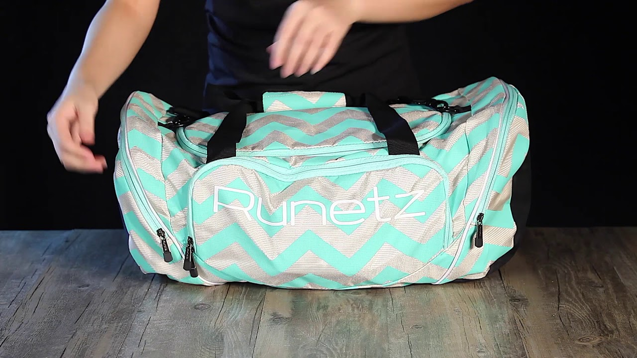 aac62e3151fe Runetz - Gym Bag for Men   Women Duffel Sport Shoulder Bag - YouTube
