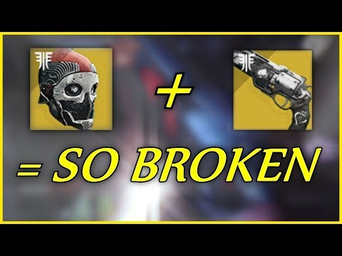 Okay The Ace of Spades + The New Titan Exotic Helmet = BROKEN (Destiny 2 Forsaken)