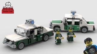 LEGO MOC#30-3 German Lada Police Car (Deutscher Volkspolizei Lada Polizeiwagen)