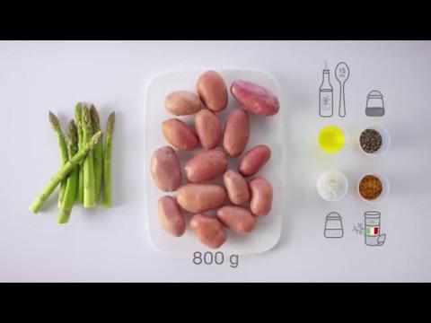 steak-mit-spargel-&-kartoffeln-aus-dem-tupperware-micropro-grill