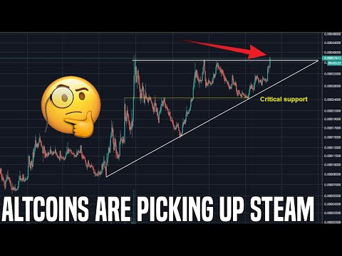 Altcoin Breakout | The Market Looks Set To Pop