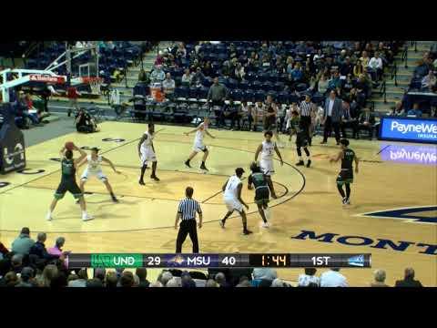 UND Men's Basketball - Highlights: UND at Montana State - 1/6/18
