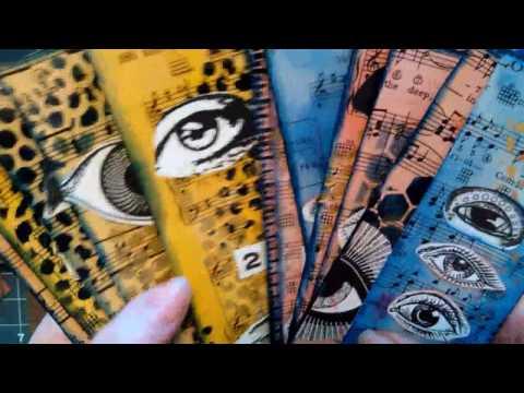 Eyeball Tags/Bookmarks Teesha Moore images #100thingschallenge ~ DancesWithPitBulls