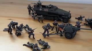 Армия в миниатюре Второй Мировой Войны. Германия.