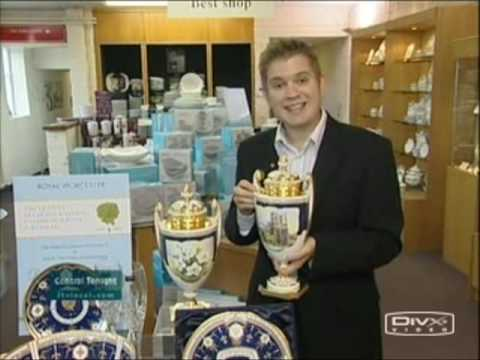 ITV Central News - Royal Worcester - Queen's Diamond Wedding