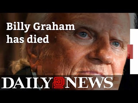 Billy Graham dead at 99 billy graham