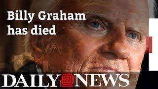 Billy Graham dead at 99 thumbnail