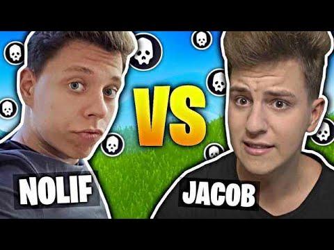 JACOB VS NOLIF W FORTNITE