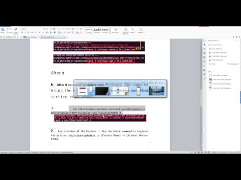 how to install canon lbp 2900b printer in ubuntu