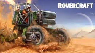 Rover Craft racing a car