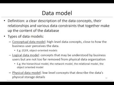 Chapter 1: Fundamental Concepts of Database Management