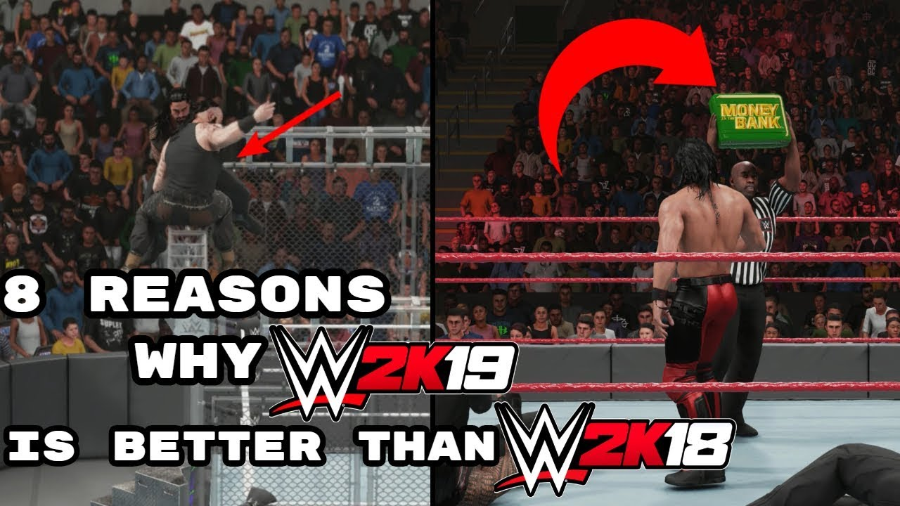 8 Reasons Why WWE 2K19 Is Better Than WWE 2K18 #1