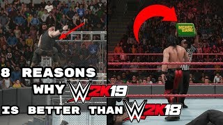 8 Reasons Why WWE 2K19 Is Better Than WWE 2K18