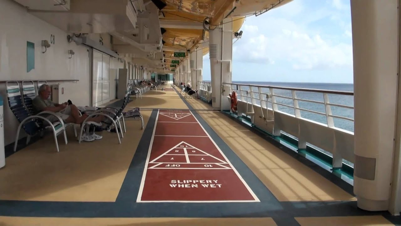 explorer of the sea deck walk around whole ship march 2011 youtube
