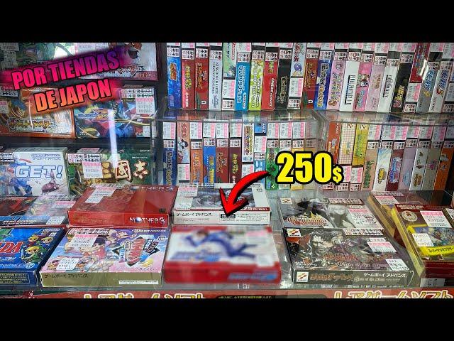 Los VIDEOJUEGOS mas CAROS de la GAMEBOY ADVANCE en JAPON . TIENDAS DE SEGUNDA MANO