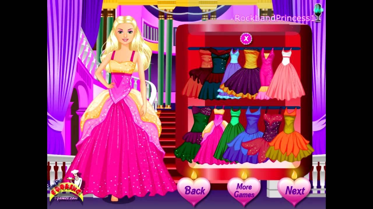 barbie and the diamond castle Games for Girls on ...