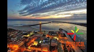 Praia da Barra Night flight - 4K Ultra HD