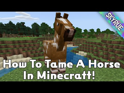 how-to-tame-a-horse-in-minecraft!-|-minecraft-tutorials