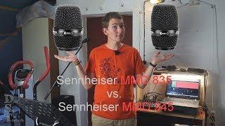 Sennheiser MMD 835 vs. Sennheiser MMD 945 - Dreiseltechik testet