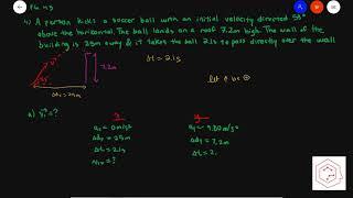 SPH4U/Grade 12 Physics: 1.5 Projectile Motion