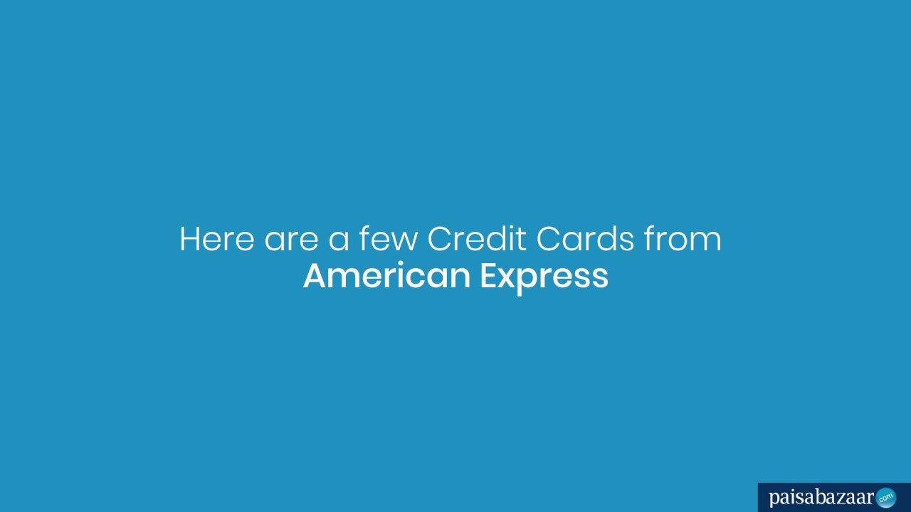 American Express Credit Card: Apply Online for Amex, Check
