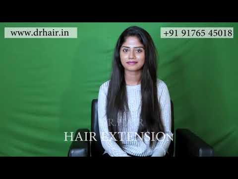 Hair Extensions for Thin Hair in Chennai | Short hair | Gain instant length