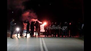 Συγκέντρωση οπαδών του ΠΑΟΚ στο Κιλκίς κατά ΝΔ και Βορίδη - Eidisis.gr webTV