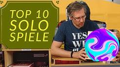 Meine Top 10 Solo - Brettspiele - Kartenspiele - Würfelspiele