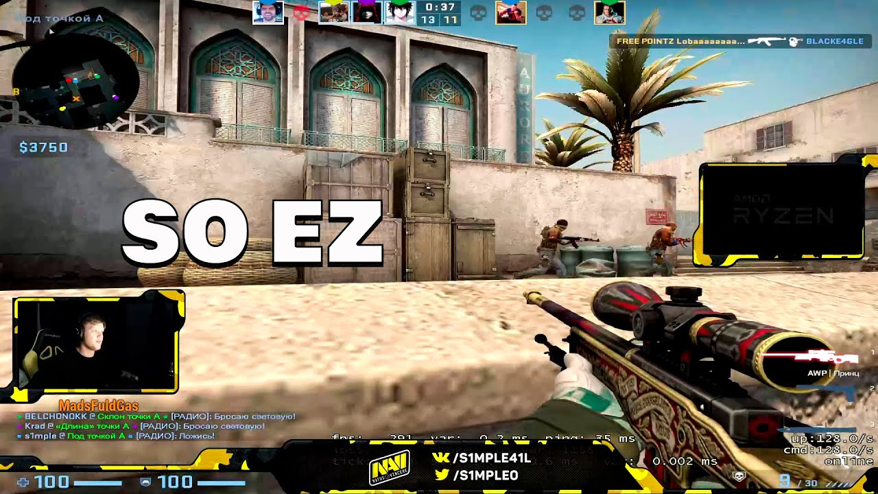 JAMPPI PLAYING WITH WH? | S1MPLE STYLE | NEVER READ CHAT WHEN YOU PLAYING CS | CSGO TWITCH MOMENTS