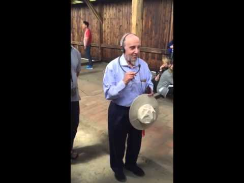 Rabbi Lookstein at Auschwitz on Tisha B