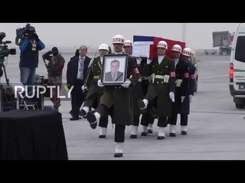 LIVE: Commemoration ceremony for assassinated Russian Ambassador to Turkey
