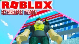 SKYSKRABEREN! - Roblox Skyscraper Tycoon Dansk