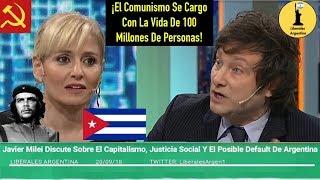 Javier Milei Discute Sobre El Capitalismo, La Justicia Social Y El Posible Default De Argentina