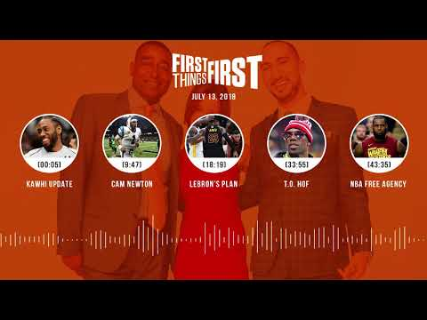 First Things First audio podcast(7.13.18) Cris Carter, Nick Wright, Jenna Wolfe | FIRST THINGS FIRST
