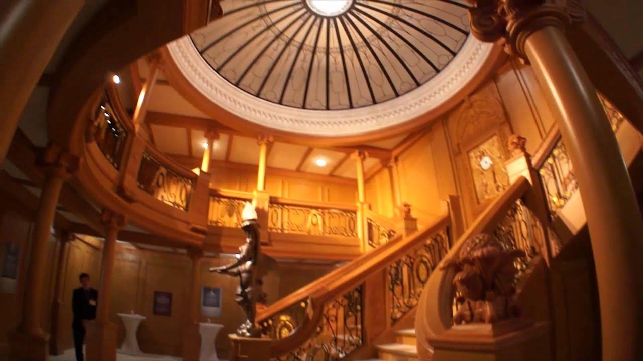 """Открытие выставки """"Титаник: как это было"""" - YouTube"""