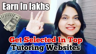 Start your tutoring career online with this TIPS || Make money online || Earn Money Online  - Tutor