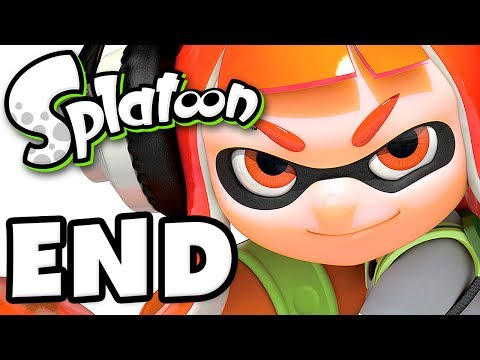 Splatoon - Gameplay Walkthrough Part 254 - LEVEL 50! (Nintendo Wii U)