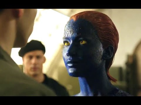 X-Men: Days of Future Past Official Movie Clip - Who Are You? (2014) Jennifer Lawrence HD