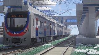 마인크래프트 1호선 열차 시험주행