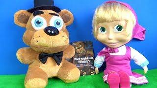 Maşa ile Koca Ayı neden küstü? FNAF Five Nights at Freddy's peluş Niloya Tospik Heidi Kayu tanışıyor