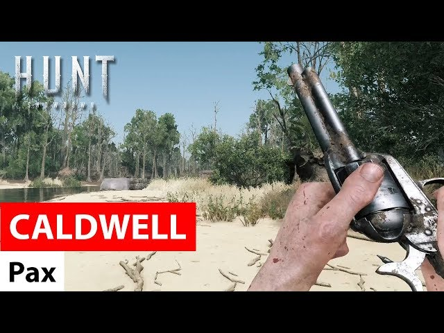 Caldwell Pax - Hunt: Showdown / Первое знакомство с револьвером