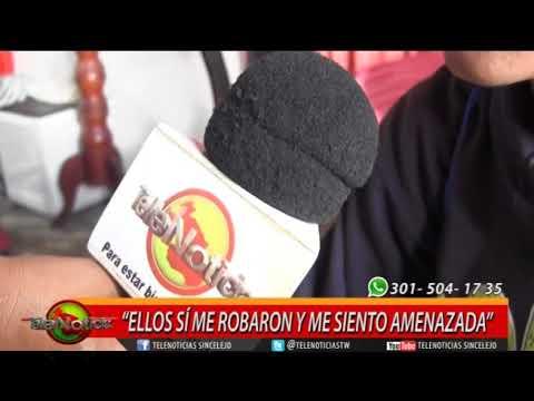 """""""ELLOS SÍ ME ROBARON Y ME SIENTO AMENAZADA"""""""