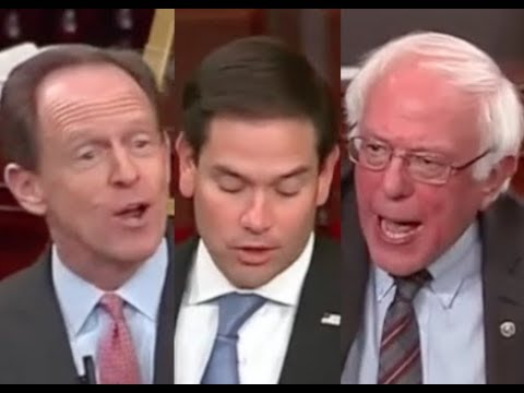 HEATED SENATE TAX DEBATE: Bernie Sanders DESTROYS Marco Rubio & Pat Toomey on Trump