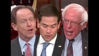 HEATED SENATE TAX DEBATE: Bernie Sanders DESTROYS Marco Rubio & Pat Toomey on Trump