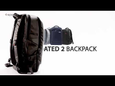 5f2cd1ef5e Spigen Bag Series NEW-COATED2 BACKPACK - YouTube