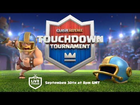 Clash Royale: NEW GAME MODE! Touchdown Tournament!